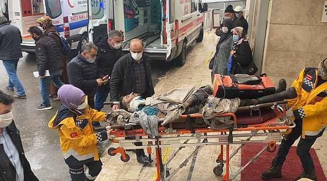 Zonguldak'ta maden işçisi, iş kazasında yaralandı