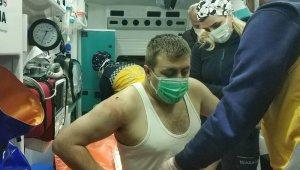 """5 lira vermeyen güvenlik görevlisini bıçaklayarak hastanelik etti, yakalanınca """"benden şikayetçi olma"""" dedi"""