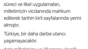 """Adalet Bakanı Gül: """"Türkiye, bir daha darbe utancı yaşamayacaktır"""""""