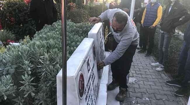 Adana'da tahrip edilen mezarlar onarıldı