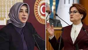 """Akşener, AK Partili Zengin'in """"Onurlu kadın bir sene beklemez"""" sözlerine sert çıktı"""