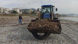 Alanya sahilleri sezona hazırlanıyor