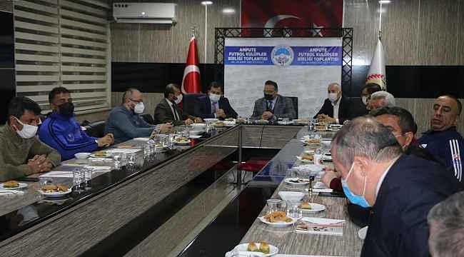 Ampute Futbol Kulüpleri Birliği toplantısı yapıldı