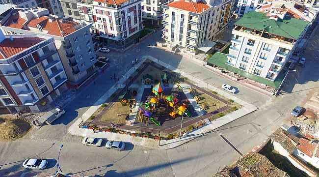 Atatürk Mahallesi parkı hazır
