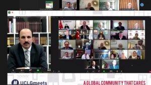 """Başkan Altay: """"2020 şehirlerin yeni yol haritaları belirlemesine fırsat verdi"""""""