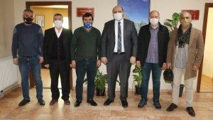 Başkan Orhan'dan esnaf odalarına ziyaret
