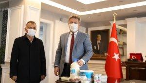 """Başkan Palancıoğlu, """"Yerli ve katkısız üretimi daime destekliyoruz"""""""