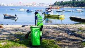 Başkan Yazıcı'dan çöp yığınlarına esprili gönderme