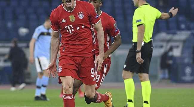 Bayern Münih'den Lazio'ya fark