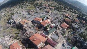Beton yapı girmeyen köy