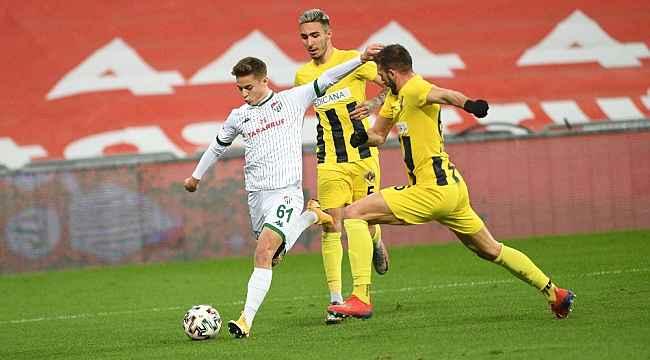 Bursaspor 103 maç sonra kaleyi göremedi - Bursa Haberleri