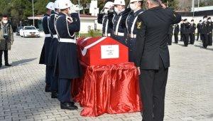 Çanakkale'de tekne faciasında hayatını kaybeden Teğmen Musa Bulut için tören düzenlendi