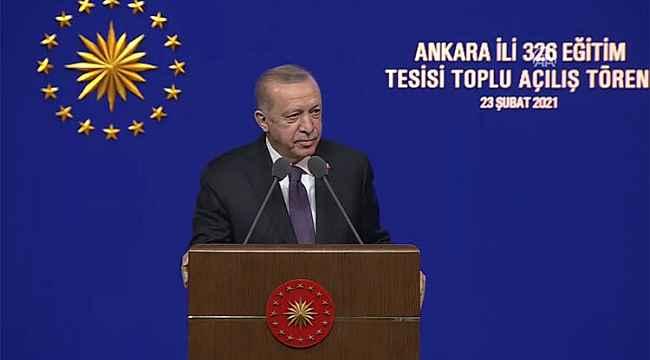 """Cumhurbaşkanı Erdoğan duyurdu: """"20 bin öğretmen ataması daha yapacağız"""""""