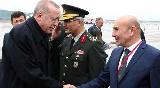 Cumhurbaşkanı Erdoğan ile görüşen İzmir Büyükşehir Belediye Başkanı Tunç Soyer, iki talepte bulundu