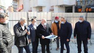 Darıca'nın Çınarlatı Meydanında yenileme çalışmalar başladı