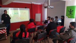 DASKUT'a âfet eğitimi - Bursa Haberleri