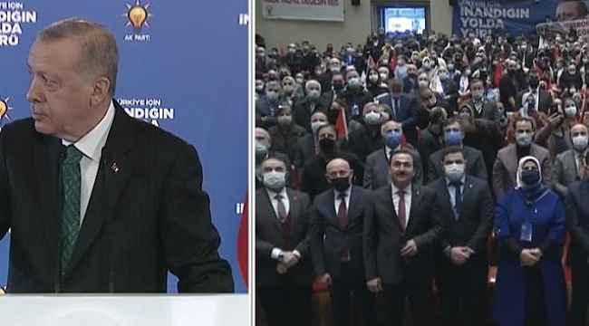 """Erdoğan, salondaki sönük havayı görünce rahatsız oldu: """"Burada müzik yok mu?"""""""