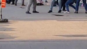 Esenyurt'ta meydan kavgası kamerada