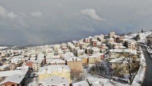 İstanbul'da kar sonrası büyüleyici manzara