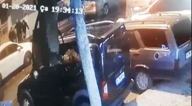 İstanbul'un göbeğinde silahlı saldırı: Yaralı genç can havliyle böyle kaçtı