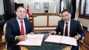 İzmir Yüksek Teknoloji Enstitüsü ile Afyonkarahisar Valiliği arasında protokol imzalandı
