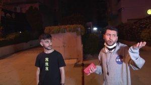 """Kadıköy'de kısıtlamayı delip kaza yapan gençlerden gazetecilere """"sapık ruhlusunuz inşallah yaşamazsınız"""" tepkisi"""
