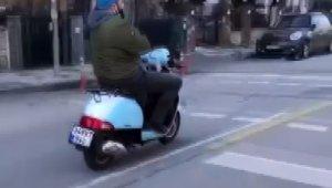 - Kadıköy'de motosikletle ölümüne yolculuk kamerada