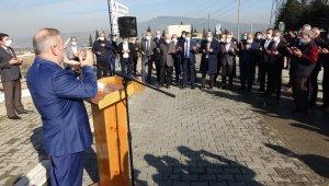 Karabük Organize Sanayi Bölgesi Camii için temel atma töreni yapıldı