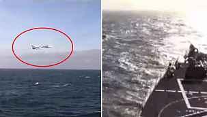 Karadeniz'de Rus savaş uçağından ABD'nin güdümlü füze destroyerine taciz