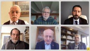 """Konya'da """"28 Şubat'ın Dünü, Bugünü ve Yarını"""" konulu söyleşi gerçekleştirildi"""