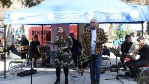 Küçede Sanat Var etkinliği Yenişehir'de