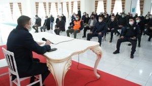 Manyas'ta kovid-19 tedbir toplantısı