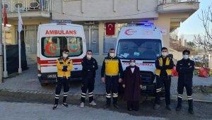 Selendi 112 İstasyonuna yeni ambulans