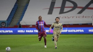 Süper Lig: Trabzonspor: 0 - Fenerbahçe: 0