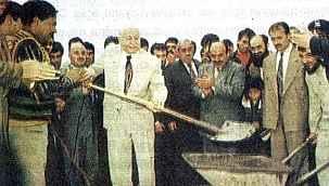 Temelini Erbakan'ın attığı Ilgın Şeker Fabrikası'nda üretim durdu