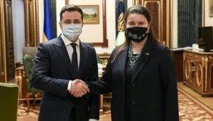 Ukrayna, ABD Büyükelçiliği görevine ilk kez kadın diplomat atadı