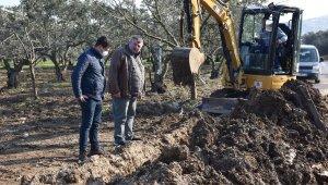 Umurbey'de zeytinlikler suya kavuşuyor - Bursa Haberleri