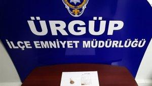 Ürgüp'te uyuşturucudan 2 şüpheli yakalandı