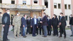 Vali Karaloğlu, Bismil'de yapımı devam eden projeleri inceledi