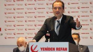 """Yeniden Refah Partisi: """"28 Şubat darbesi, Türkiye için acı ve karanlık dönemin başlangıcı olarak bir dönüm noktası oluşturmuştur"""""""