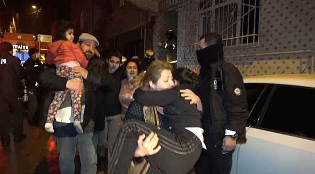 3 katlı apartmanda korkutan yangın: 5'i çocuk 8 kişi dumandan etkilendi - Bursa Haberleri