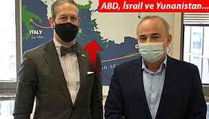 ABD ve İsrail'den skandal harita