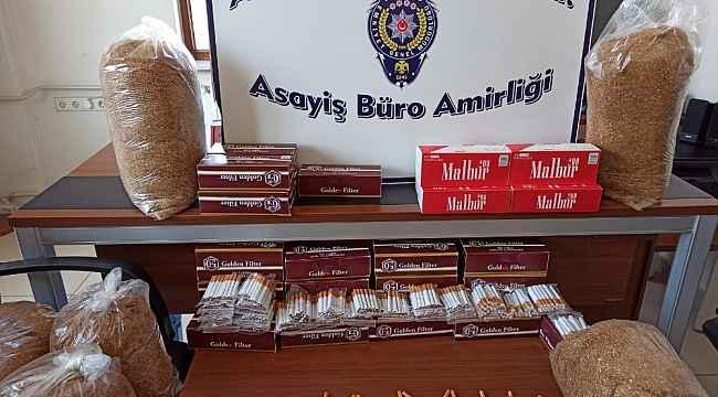 Akşehir'de tütün operasyonu