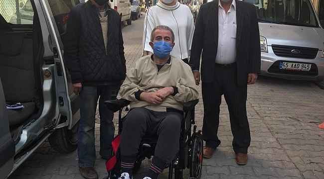 Akülü tekerlekli sandalyeler ihtiyaç sahiplerine ulaştırılıyor