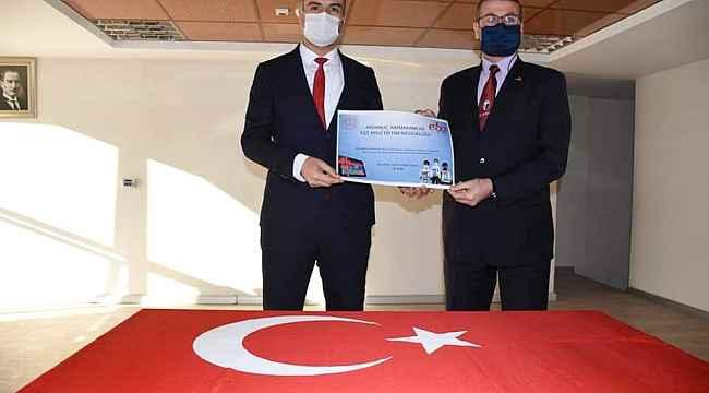 Ardanuç'tan Başkan Erdem'e tablet teşekkürü - Bursa Haberleri