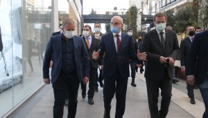 Bakan Yardımcısı Erdil'den İzmir'de AVM denetimi
