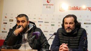 Balıkesirspor - Ankaraspor maçının ardından