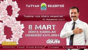 Başkan Geylani'den 8 Mart Kadınlar Günü mesajı