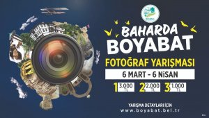 """Boyabat Belediyesi'nden """"Baharda Boyabat"""" temalı fotoğraf yarışması"""