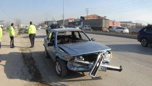 Bursa Ankara yolunda korkutan kaza